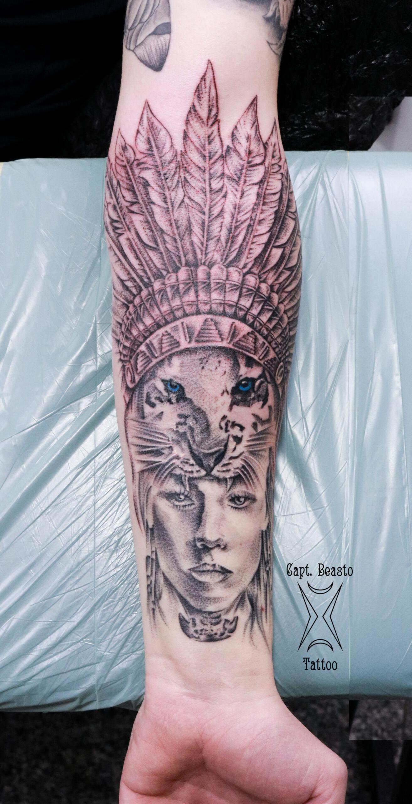 Capt. Beasto Tattoo - Kriegerin3-1