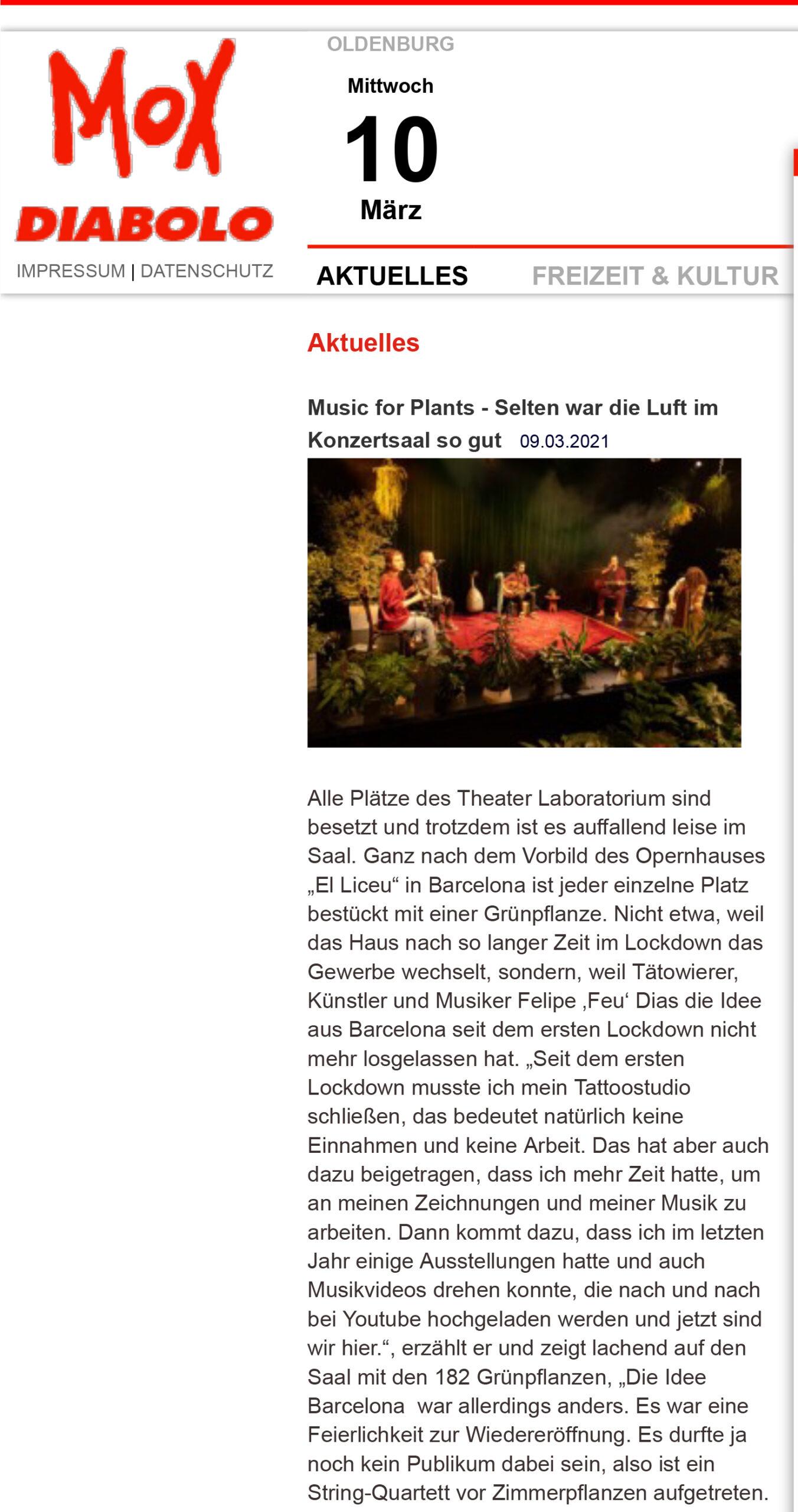 Mox - Programm- und Stadtzeitung für Oldenburg-1
